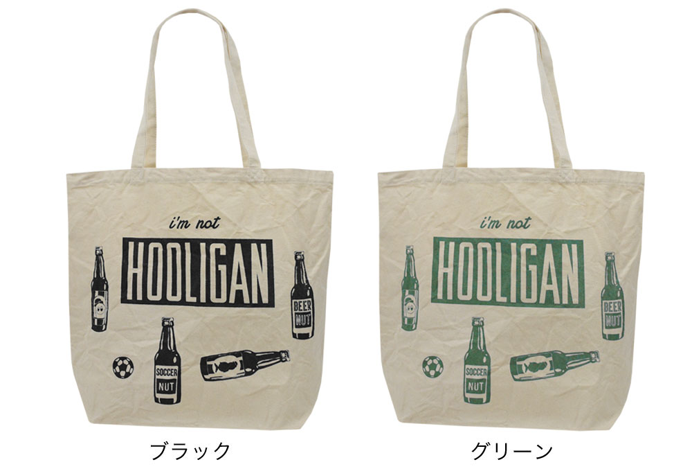 SNW036 SOCCER NUT 『 HOOLIGAN 』 トートバッグ