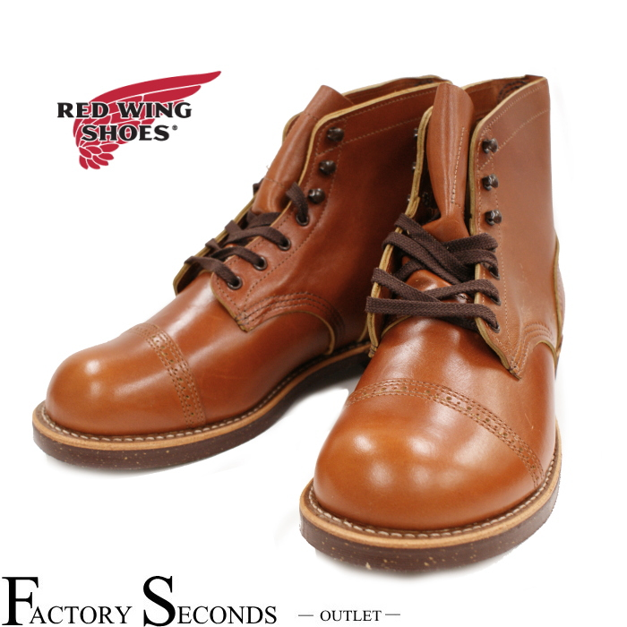 RED WING 8011 【US8/26.0cm】 【a】 【正規アウトレット品】 レッド・ウィング 現物画像 ファクトリーセカンド アイアンレンジマンソン