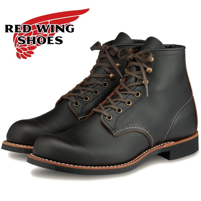"""レッドウィング ブラックスミス 正規品 RED WING BLACKSMITH 3345 [Black """"Prairie""""] ブーツ メンズ レディース レースアップブーツ プレーントゥ"""