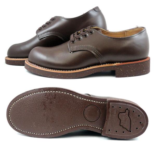 レッドウィング フォアマン オックスフォード 正規品 RED WING 8050 FOREMAN [チョコレート]  メンズ ブーツ ワークブーツ 短靴