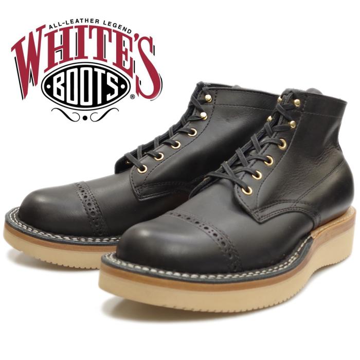 WHITE'S BOOTS SEMI-DRESS BROUGE TOE 2332 ドレスブラック ホワイツブーツ セミドレス ホワイツ ワークブーツ メンズ 本革 アメリカ製