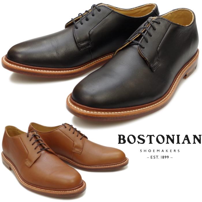 【SALE:68%OFF】 ボストニアン BOSTONIAN PLAIN TOE SHOES 26137125 26137126 プレーントゥシューズ メンズ ビジネス オフィサーシューズ プレーントゥ ビジネスシューズ 本革 レザーソール アメリカ製