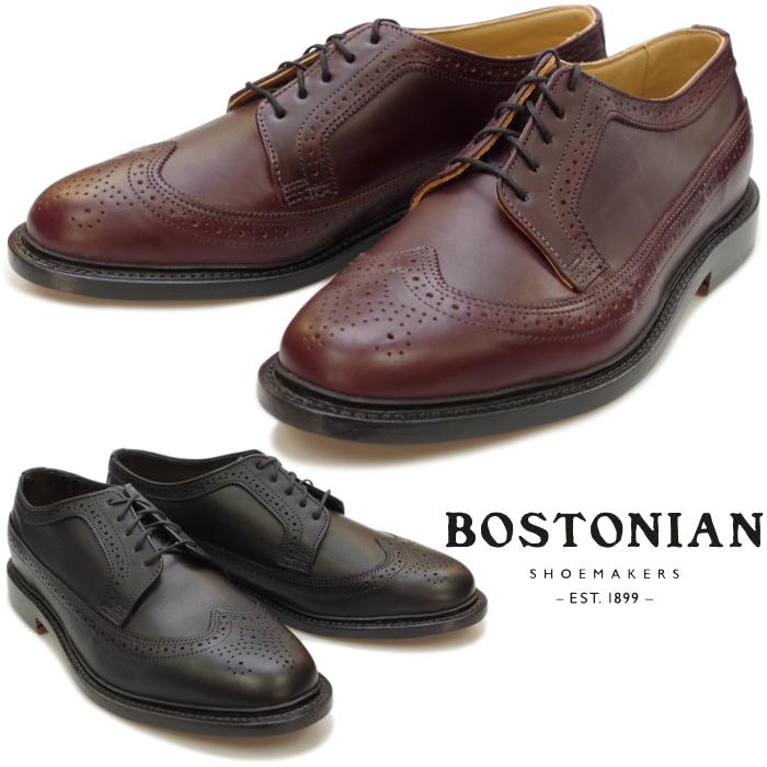 【SALE:68%OFF】 ボストニアン BOSTONIAN WINGTIP SHOES 26137127 26137128 ウィングチップシューズ メンズ ビジネス メダリオン ビジネスシューズ 本革 レザーソール アメリカ製