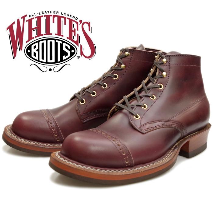 WHITE'S BOOTS SEMI-DRESS BROUGE TOE 2332 バーガンディークロムエクセル ホワイツブーツ セミドレス ホワイツ ワークブーツ メンズ 本革 茶芯 アメリカ製