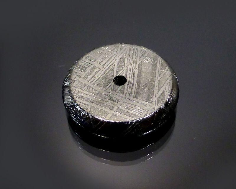 ギベオン隕石 ピーディスク ドーナツ型 (財布・ポーチ用)