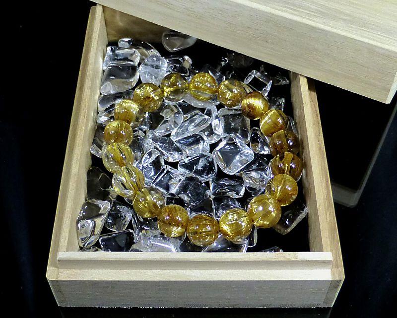 天然本水晶 さざれチップ (XLサイズ) 【100g 浄化】