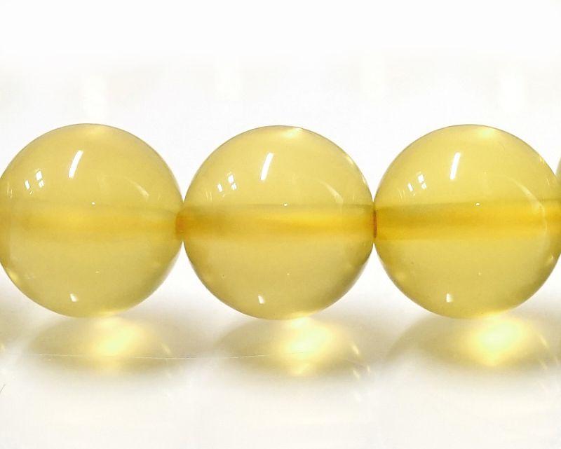 イエローオパール ブレスレット 10mm玉