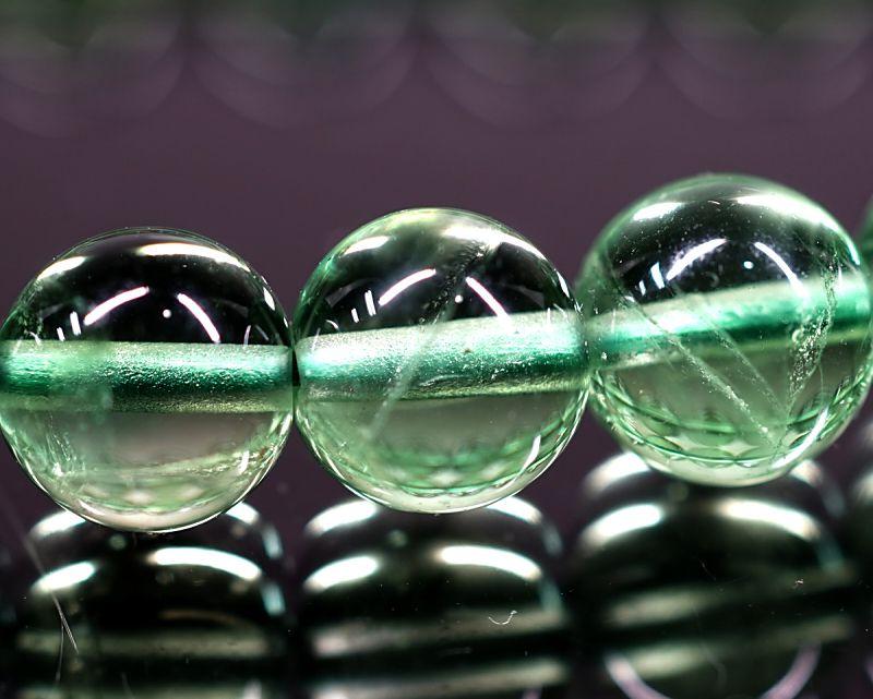 グリーンフローライト ブレスレット 8mm玉