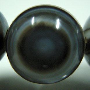 天眼石ブレスレット 8mm玉(チベットメノウ)