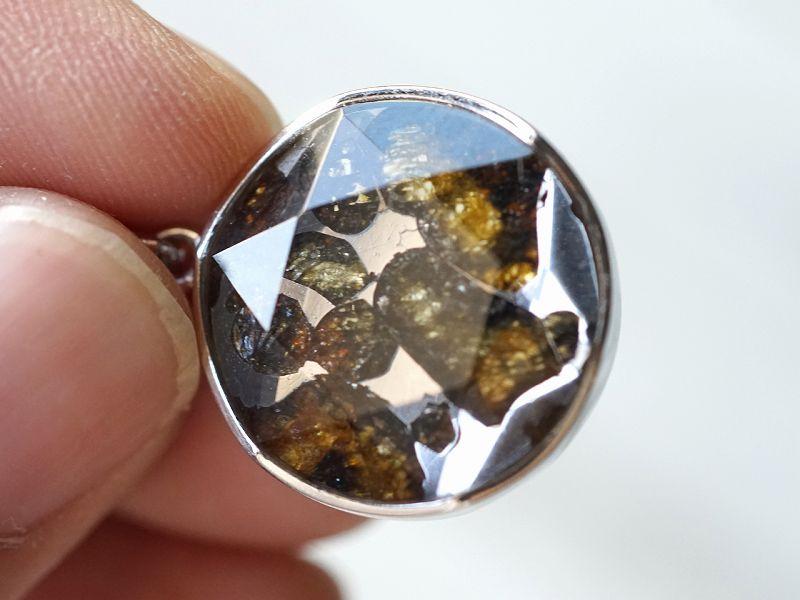 パラサイト隕石 六芒星 ペンダントトップ Sサイズ (SV925)