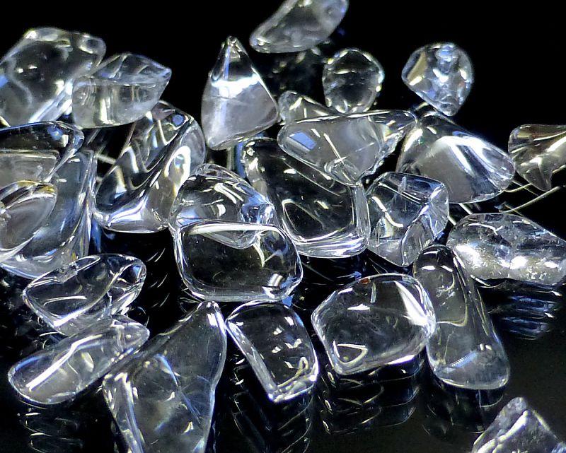 天然本水晶 さざれチップ (Sサイズ) 【100g 浄化】
