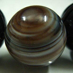 天眼石ブレスレット 14mm玉(チベットメノウ)