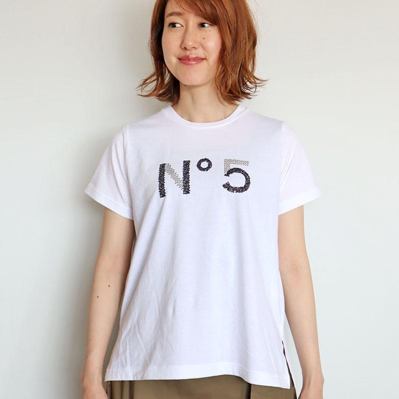 スパンコールロゴTシャツ/Coomb 8139
