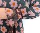 ベロアリボン花柄ワンピース/Mia 8447