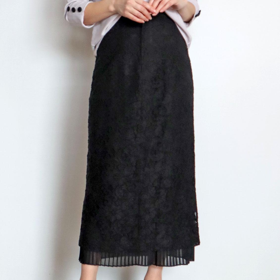 レースタイトスカート/SUGAR ROSE 8049