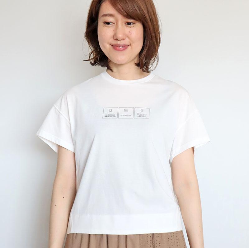 メールロゴTシャツ/Mia 8150