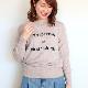 カシミヤロゴニット/Mia 8285