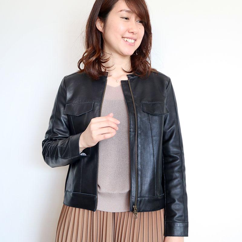 レザージャケット/Amei Swen 8304