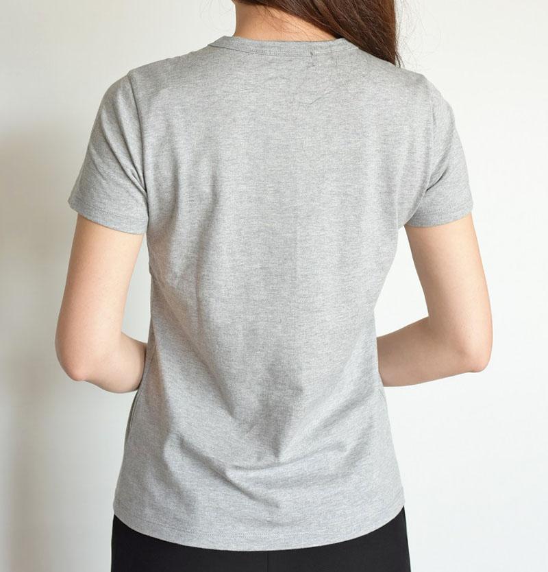 ロゴ入りコットンTシャツ/Magia 6905