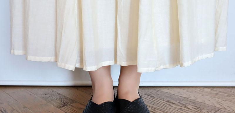 ギャザーデザインフレアスカート/COOMB 8414