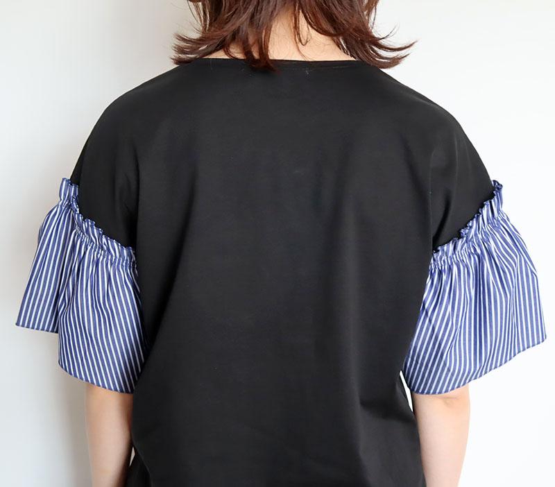 お袖ギャザーTシャツ/COOMB 8419
