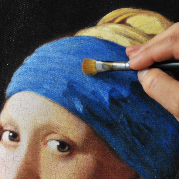 「真珠の耳飾りの少女(青いターバンの少女)」大塚巧藝新社版 /ヨハネス・フェルメール