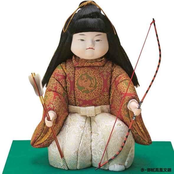 木目込み五月人形