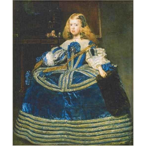 青いドレスのマルガリータ王女/ディエゴ・ベラスケス