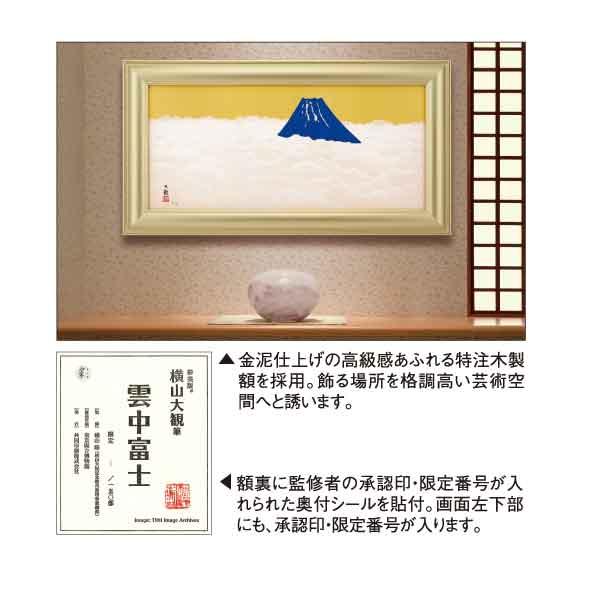 雲中富士/横山大観