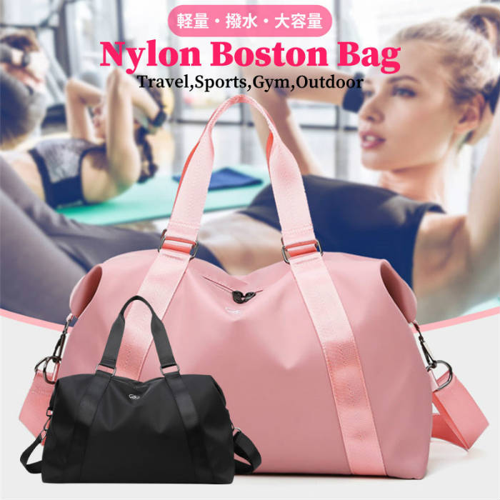 ボストンバッグ  旅行バッグ ジムバッグ レディース ナイロン 軽量 マザーズバッグ 大容量