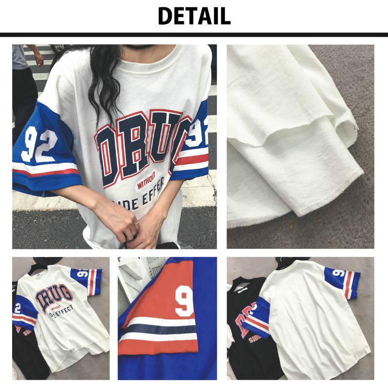 ビッグ ラグラン Tシャツ レディース ビッグシルエット オーバーサイズ トレンド ラグランスリーブ