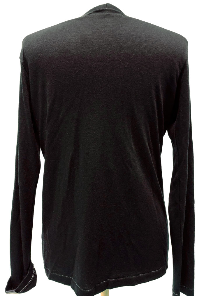 MT2841 AW x Valor Bottle V-Neck L/S TEE #09 BLK x JET