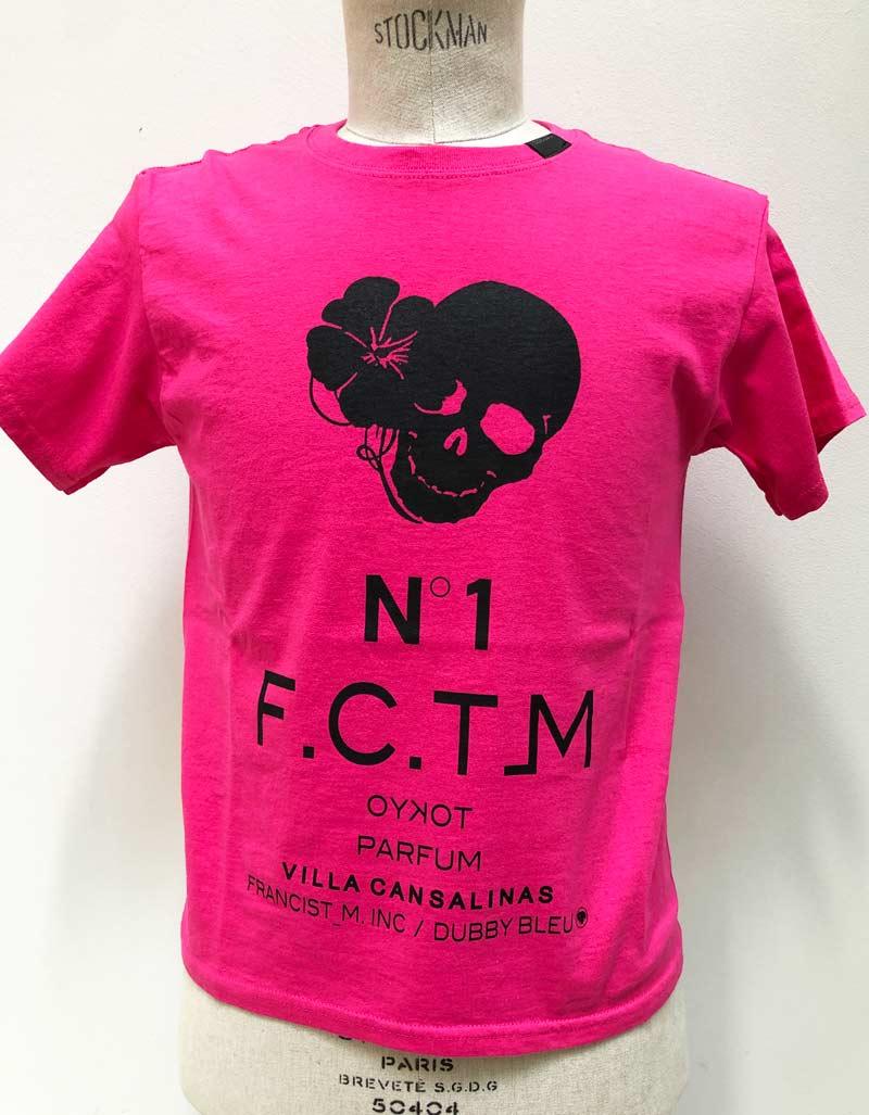 MT2839 US Body : HibiSkull N˚1 PARFUM KIDS & YOUTH TEE  #24 Pink