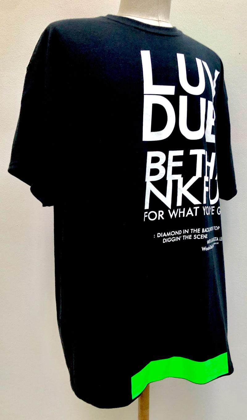 MT2722  US Remaked : LUV DUB. DUBBY TEE  #09 Black