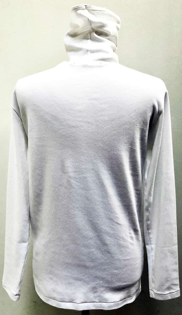 MT2855 C-Smooth Face Guard Neck L/S Shirt  #01 WHT