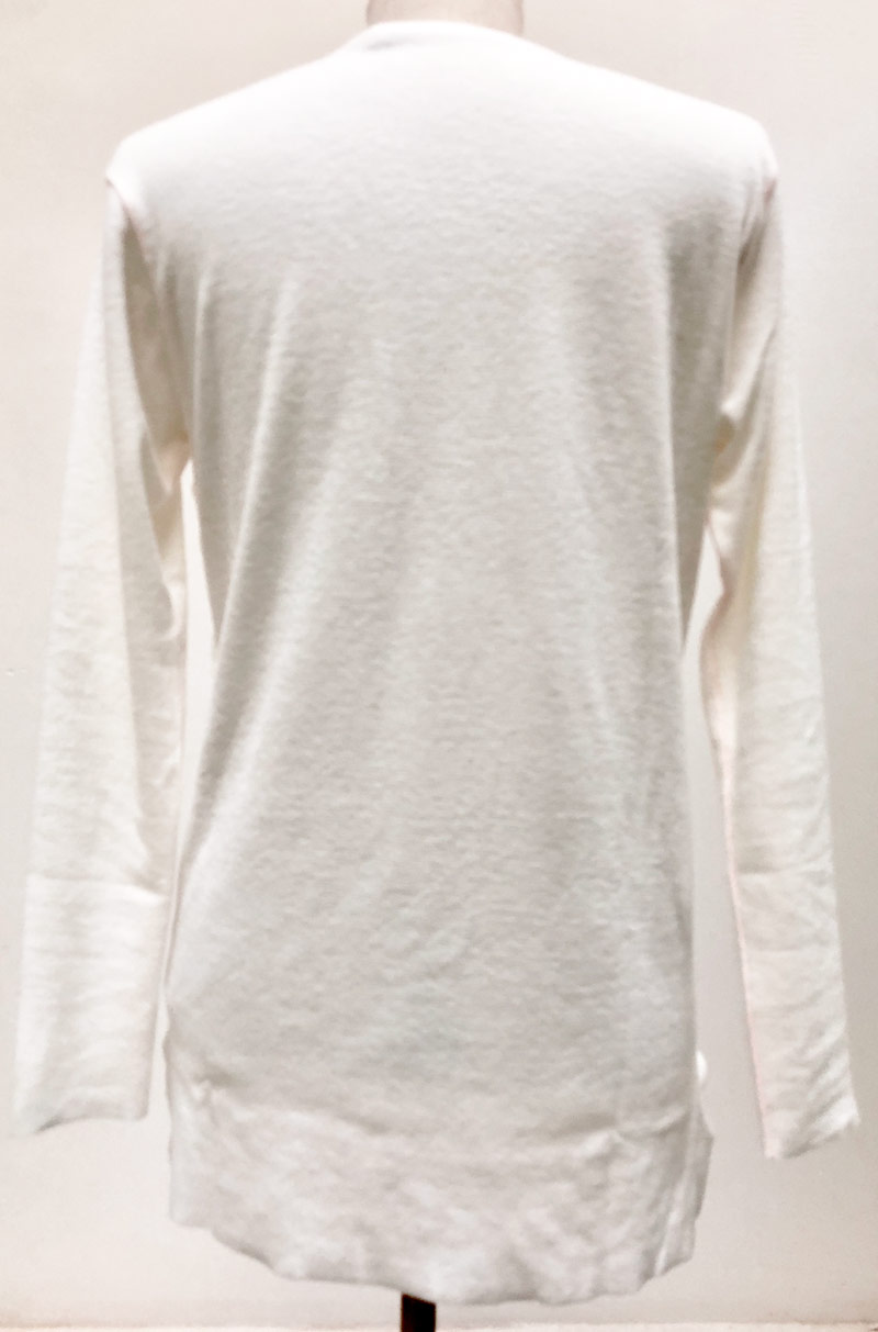 MT2716 OYM 3W Pull Over #01 White