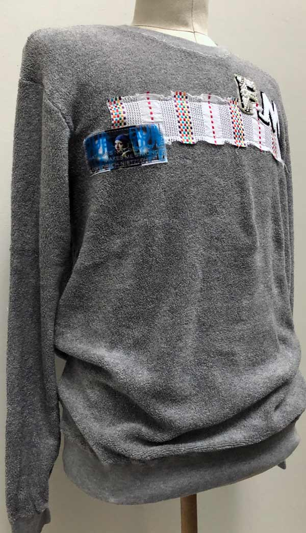 MC2793 Loop Pile F_M 4W PullOver Shirt #14 Gray