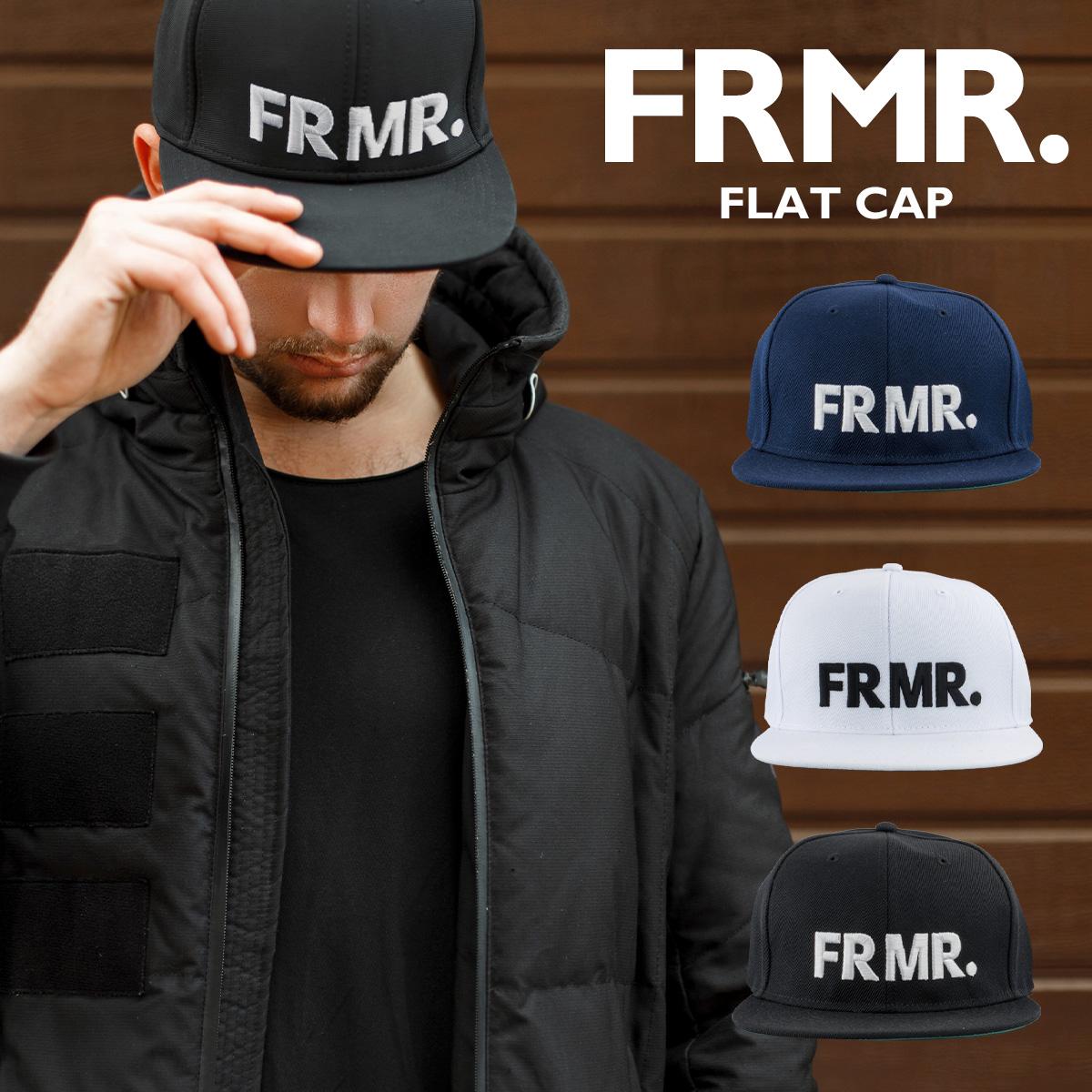 FRMR. クラシック フラット キャップ