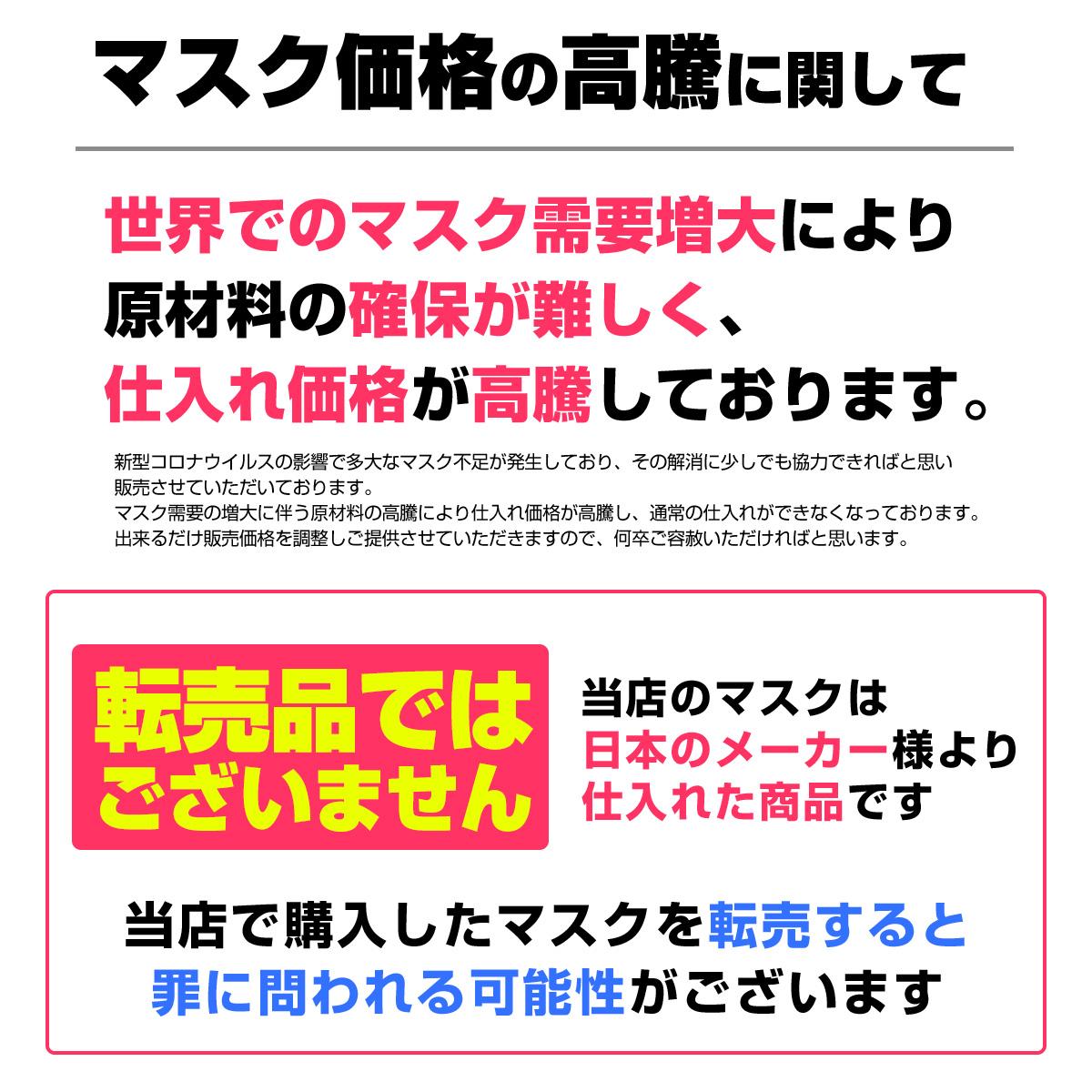【緊急値下げ】マスク 50枚入り 10個セット 送料無料