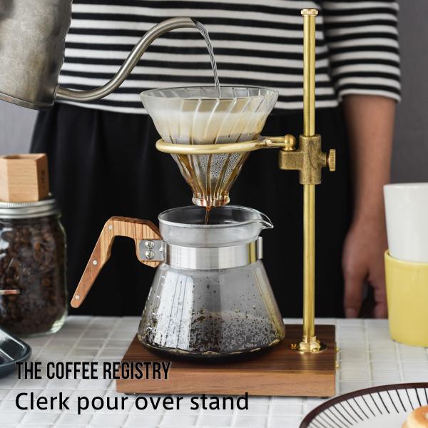 クラーク ポー オーバー スタンド(The Coffee Registry)
