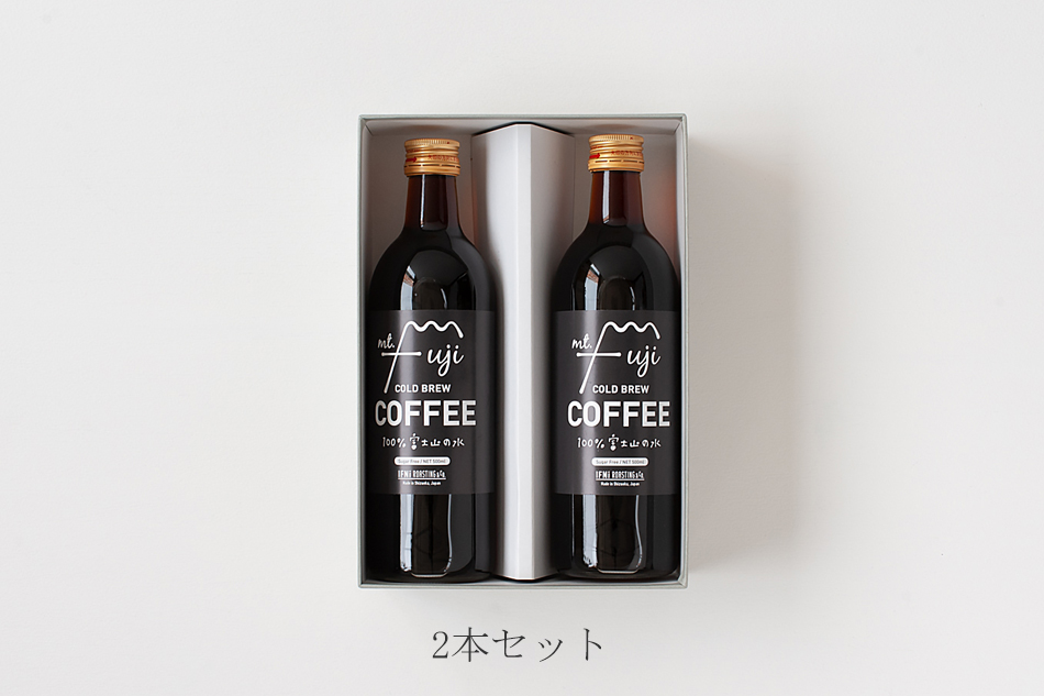 マウントフジ コールドブリューコーヒー 500ml(イフニ/IFNi ROASTING&CO.)