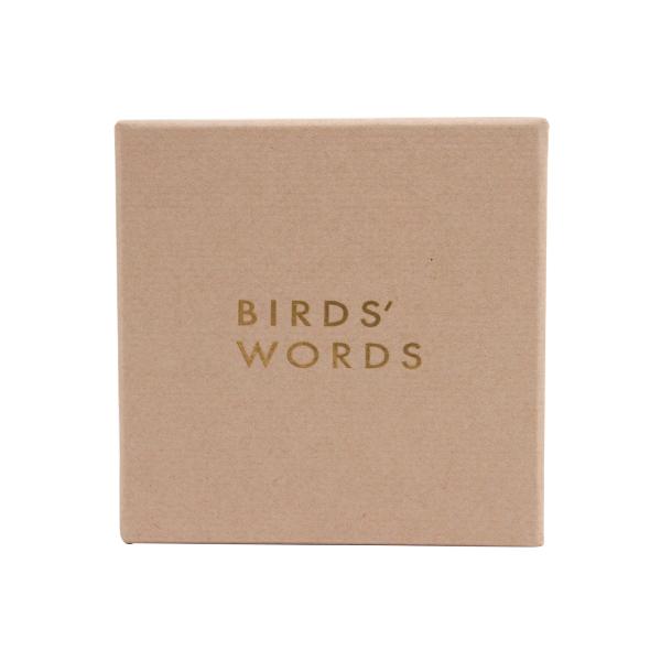 ブローチ専用 ギフトボックス(BIRDS' WORDS/バーズワーズ)
