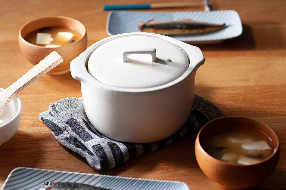カコミ 炊飯土鍋 2合(キントー/KINTO)