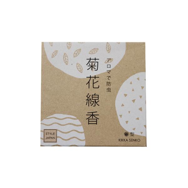 菊花線香 30巻入り(りんねしゃ)