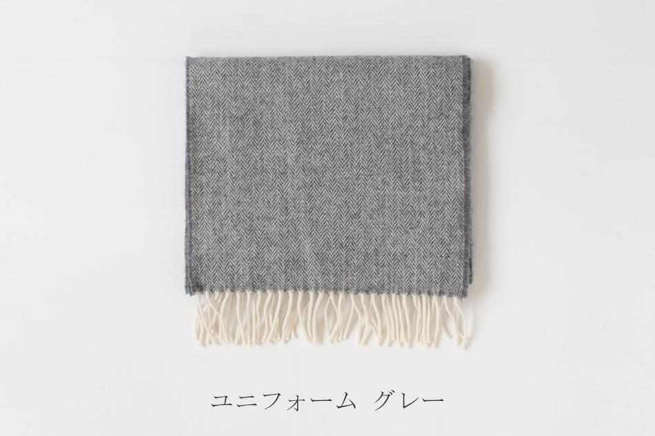 【SALE 30%OFF】スーパーソフトラムウール スカーフ ヘリンボーン(マクナット オブ ドニゴール/MCNUTT OF DONEGAL)