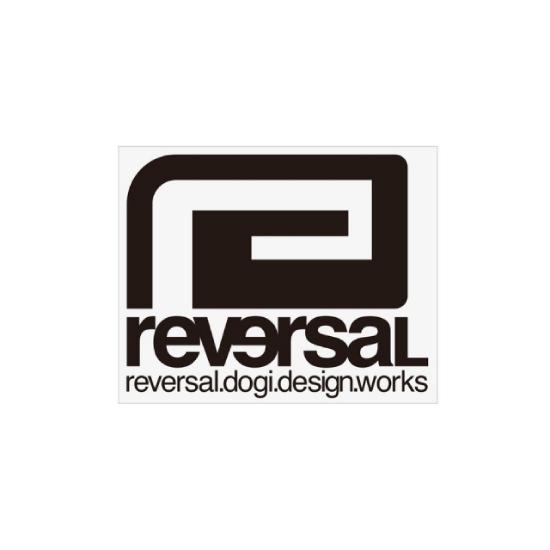 リバーサル reversal BIG MARK CUTTING STICKER