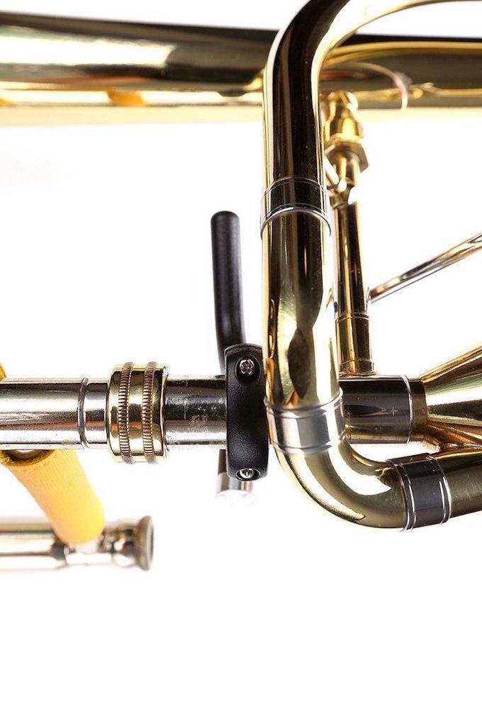 19年 NEW MODEL トロンボーン サムレスト 重量軽減 Curtis Bags Trombone Thumb Rest One Size