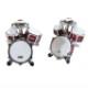 カフスボタン ドラム柄 Drum cufflinks