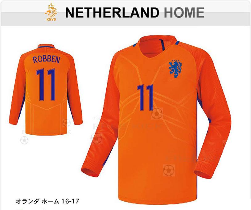 オランダ ホーム 16-17 LX 上着