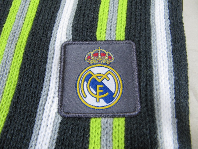レアルマドリード ファッションマフラー BARCELONA REAL MADRID FASHON SCARF RHINOX OFFICIAL PRODUCT